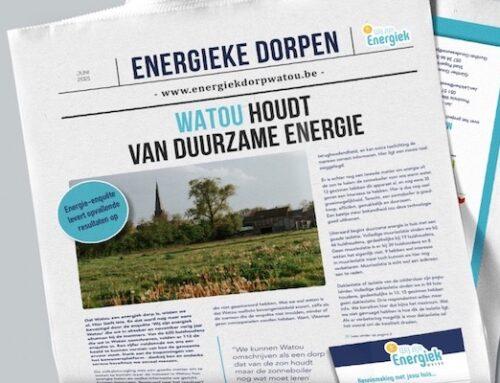 Drie Westhoekdorpen kregen elk hun energiekrant